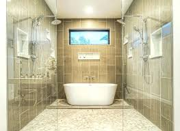 bathtub in shower contemporary master bathroom with shower and bathtub bathtub shower enclosure ideas