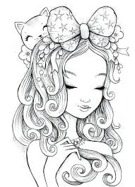 Anime Manga Coloring Pages Fairy Coloring Pages For Adults Printable