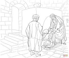 Small Picture Jesus Walks On Water Coloring Page Es Coloring Pages