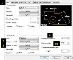 autocad dimension text size autocad dimension style