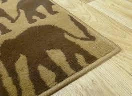 home rugs animal print range 71 mini elephant print rug