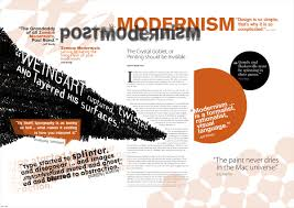 process post modernism vs postmodernism poster the smorgasblog postmodernism poster the smorgasblog