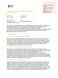 Below are service contract examples used between a client or customer and a service provider to successfully carry out a business arrangement. Photography Services Contract Template Pdf Templates Jotform