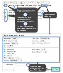 Print Address Labels How Do I Print Address Labels Keep Share Support