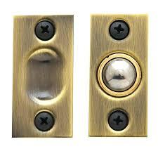 closet ball catch closet door ball catch satin brass black adjustment closet door ball catch home
