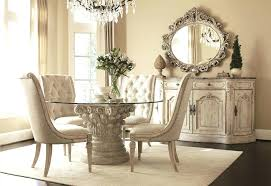 dining tables 5 piece round glass dining table with pedestal glass top dining room tables glass