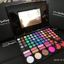 mac profesional make up set palleta
