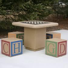concrete block furniture ideas. Cloverleaf Concrete Block Cinder Patio Bench Le Bedroom Inspired Meet The Shoebox Smallish And 4x4 Diy Furniture Ideas 6