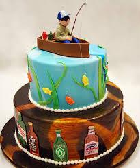 Groomscake Gone Fishing Grooms Cake