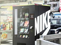 Shoe Vending Machine Magnificent Trade Sweat For Swag At The Nike Fuel Box Vending Machine