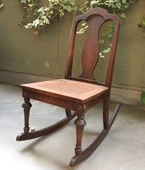 watch more like antique rocking chair with cane seat replacement antique cane rocking chair vintage rocking by kathrynsfurniture