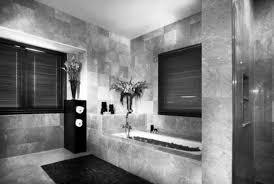 Black And White Modern Bathroom White Wall High End Bathroom Red