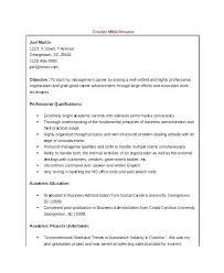 Mba Fresher Resume Format Doc 43 Unique Mba Sample Resumes Resume