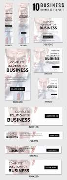 ad banner templates business fashion promotional ad banner templates