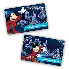 make 2017 shine with new park themed disney gift cards
