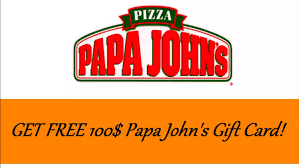 papa john s gift cards no need for papa john s coupons papa john s 100 gift cards no need for papa john s coupons