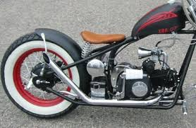 welcome to the kikker hardknock bobber motorcycle by mojo power