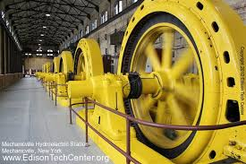 Image Rotor Edison Tech Center Mechanicville Power Plant 1897