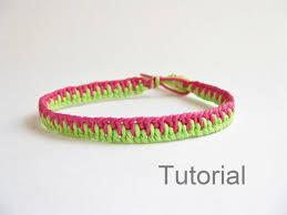 Knot Bracelet Patterns
