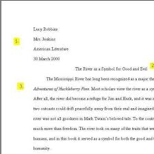 Quotation In Mla Sample Pages In Mla Format Quotation Marks American