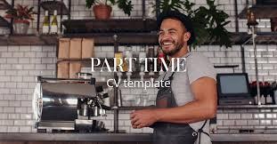 Part Time Job Cv Template Cv Template Part Time Cv Library