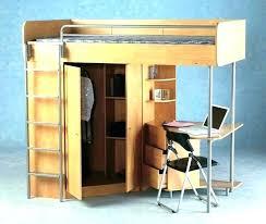 desk in a closet desk built into closet bunk bed with built in desk bunk beds