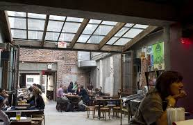 mission dolores beer garden park slope brooklyn skylight window restaurant design restaurant bar