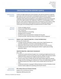 Director Resume Sample Artirector Sample Jobescription Best Ideas Of Creative Resumes 18
