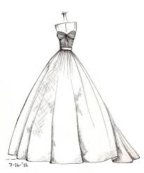Dress Pencil Drawing Projects To Try Dress Sketches Dress