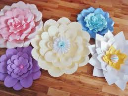 Paper Flower Archway Large Paper Flowers Flower Display Wedding Archway Set