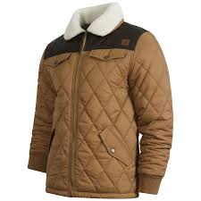 KANGOL Ranger Mens Quilted Jacket with Sherpa` Collar,Size S-XXL,3 ... & KANGOL-Ranger-Mens-Quilted-Jacket-with-Sherpa-Collar- Adamdwight.com