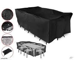 patio furniture cover outdoor garden table rectangular shelter trade me