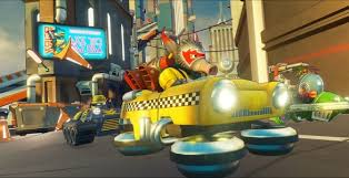 e dust racers bringing colorful multiplayer racing to ps4 xbox one pc one angry gamer