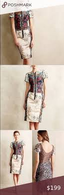 BEGUILE By Byron Lars sz 2P NWT tapestry dress in 2020 | Patchwork dress,  Embroidered midi dress, Clothes design