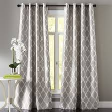 Curtain Patterns Mesmerizing Grommet Curtain Patterns Curtains With Tutorial Iboo