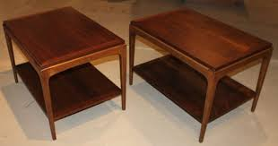 mid century modern pair of lane end tables at 1stdibs popular throughout 4