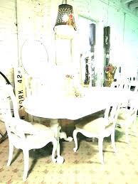 chic dining room sets shabby chic dining room chairs round table and cottage sets decorations