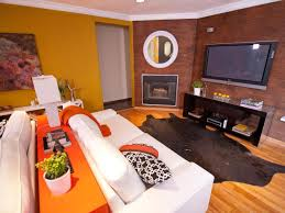 Yellow And Brown Living Room Photos Design On A Dime Hgtv