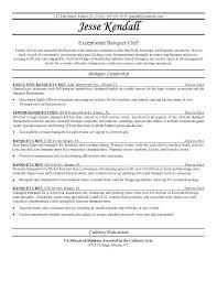 Banquet Chef Resume Interesting Chef Resume Example Chef Resume Sample Word Banquet Chef Private