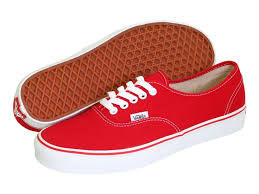 vans shoes red and white. vans authentic women | red (ee3red) vans shoes and white v