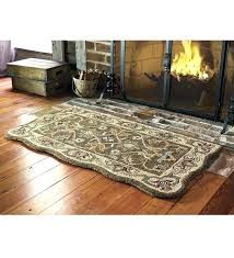 fireproof hearth rug fireproof hearth rugs best ideas on rug hooking primitive with fire ant for