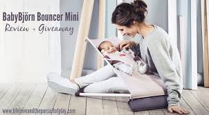 babybjörn bouncer mini review giveaway life love and the pursuit of play