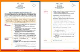 Examples Of 2 Page Resumes 100 two page resume examples self introduce 69