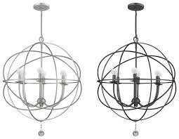 crystorama 9226 solaris medium 22 5 nbsp contemporary chandelier light loading zoom