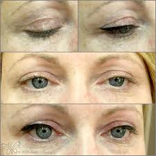 before and after semi permanent eyeliner by tamara bonnar