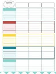 Teacher Organizer Planner Teacher Planner Organizer Red Blue Teal Yellow Theme