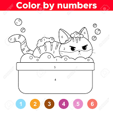 Welcome to happy color official page! Coloring Page For Children Study Colors And Numbers The Funny Royalty Free Cliparts Vectors And Stock Illustration Image 135049957