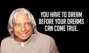 Apj Abdul Kalam Quotes On Dreams Best Of APJ Abdul Kalam Quotes Top 24 Motivational Inspirational Sayings