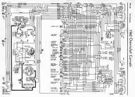 corvair starter wiring circuit and wiring diagram chevrolet corvair wiring diagram of the electrical system