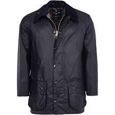 barbour beaufort wax jacket men s black